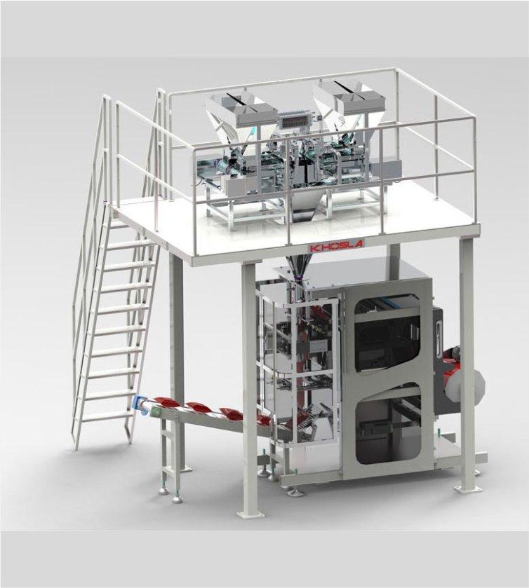 Vertex 550B Rice Packaging Machine