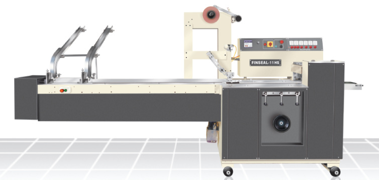 FINSEAL 11HS CANTEEN PACK/PILE PACK MACHINE FOR BISCUITS