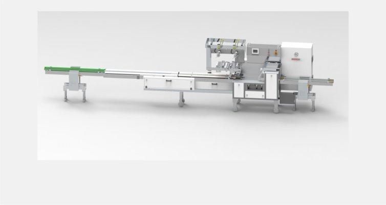 LOGIPAC 51S HIGH SPEED FLOW WRAP MACHINE FOR BATH SOAP